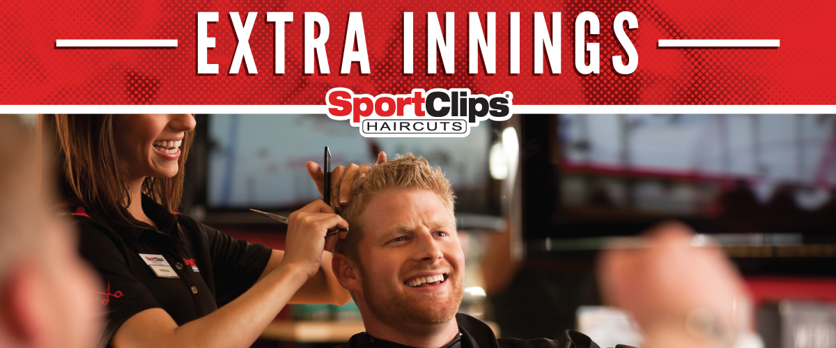 The Sport Clips Haircuts of Gleannloch Extra Innings Offerings